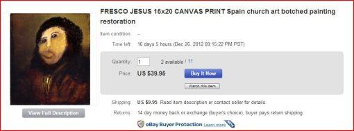 fresco jesus